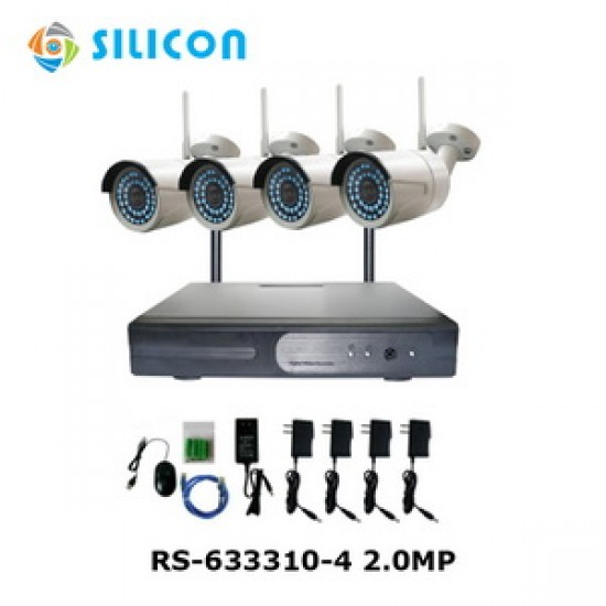 Silicon NVR Kit Wireless RS-633310-4