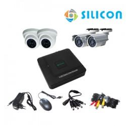 Paket Si Cam 1 (4 Channel Silicon)