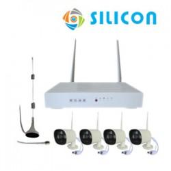 SILICON WireLess NVR kit WNVR-4B136H-15WL